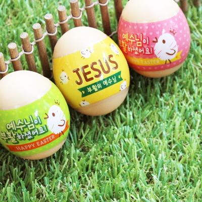 부활절 달걀 수축필름 (24매)_부활의 예수님(JESUS)