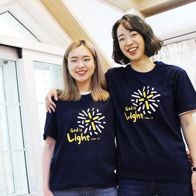 The Word 교회단체티셔츠-  Light (성인용)