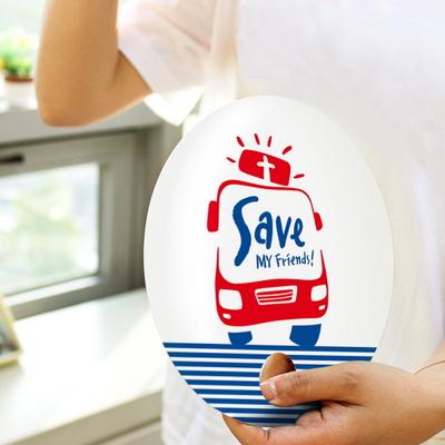 단체용부채 - Save (300개 주문제작)