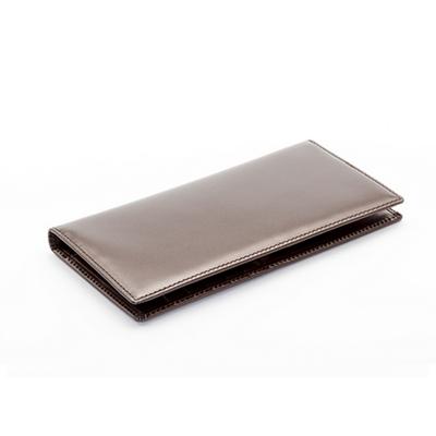 플랫 장지갑 (brown)
