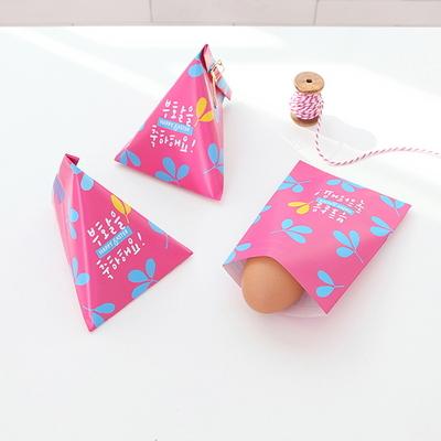 부활절 1구 삼각형봉투(10매)_핑크605