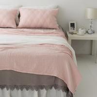 모달 삼중거즈 여름이불-핑크