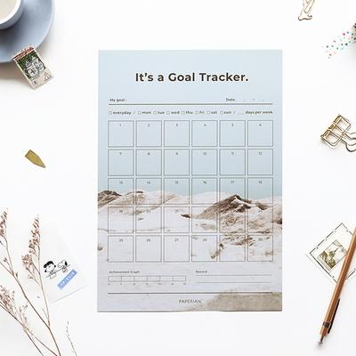 Goal Tracker-30days (A4)