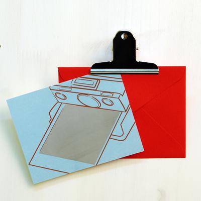 scratch card - polaroid