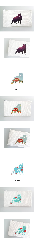 Cosplay cat curo pouch 1 (5종) - 유이마루, 8,000원, 다용도파우치, 지퍼형