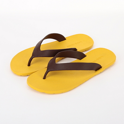 Flipflop, Yellow-Chocolate