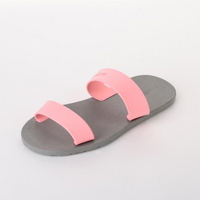 Tow Strapspop, Gray-Light Pink