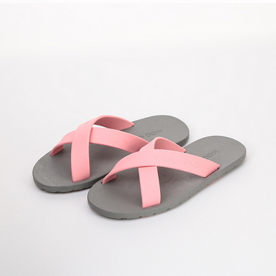 KIDS Cross, Gray-Light pink