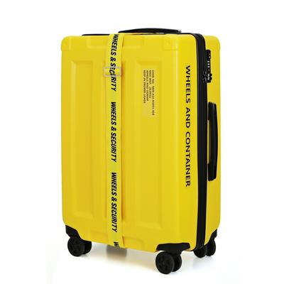 휠즈앤 컨테이너 PC 캐리어 20형 24형 28형 옐로우
