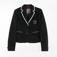 [교복아울렛] 화이트 라인 포인트 여자 자켓 교복