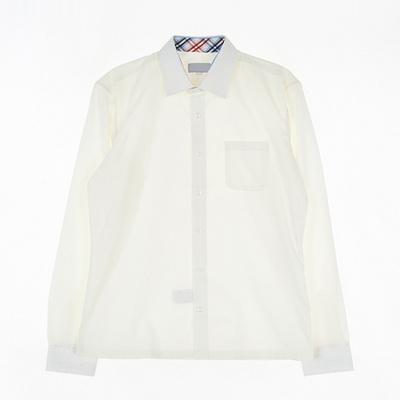 [교복아울렛] 심플 아이보리 셔츠 (상암중) 교복 학교