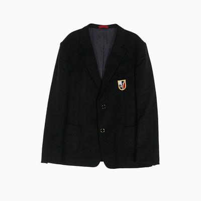 [교복아울렛] 투버튼 블랙 남자자켓 (장성중) 교복