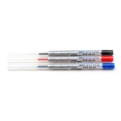 유니볼 스타일핏 볼포인트 멀티펜 잉크 카트리지-0.5mm(3컬러)