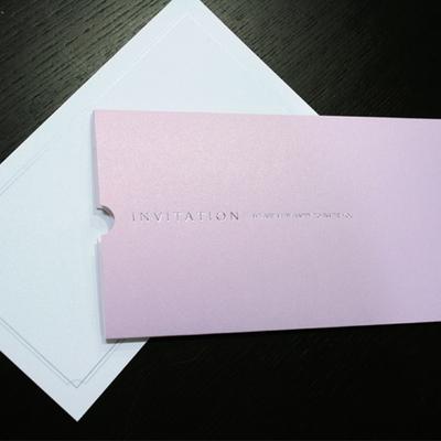 펄진주 초대카드