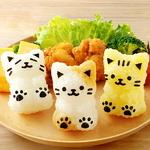 주먹밥틀세트 - 귀여운 아기고양이