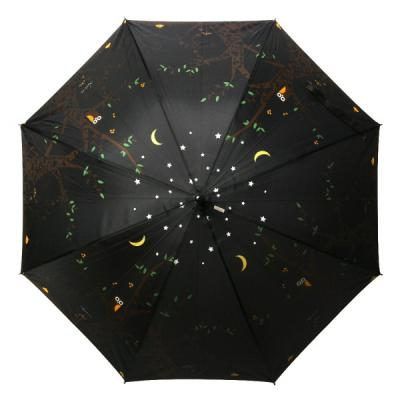[rain s.] 레인스토리 자동 장우산(양산겸용) - 밤에부엉이