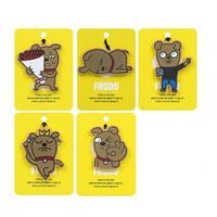 엘지생활건강 카카오프렌즈 걸이형 향기카드