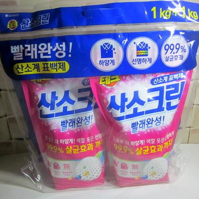 lg생활건강 산소크린 표백제 1kg X 2