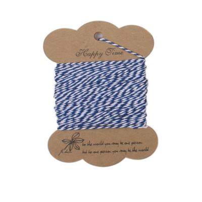 스트링시리즈3(트와인) 블루+화이트 -포장끈