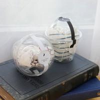 수능선물-투명컵 양말선물세트 4Type