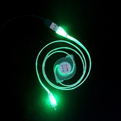 SP-UC30 LED 마이크로5핀 자동감김 충전데이터 케이블
