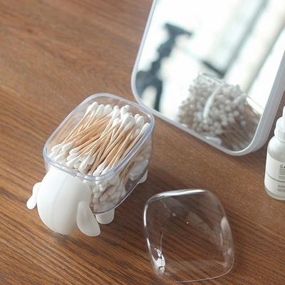 아기양 화장솜 면봉 정리함