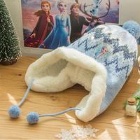 겨울왕국2 화이트퀸 모자 겨울 방울 귀달이 FR0222