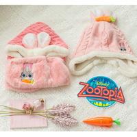 주토피아 캐럿 모자 귀달이 뽀송 겨울모자 DS0191