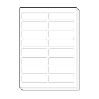 16칸(2X8) 물류표기 주소 라벨용지 100매