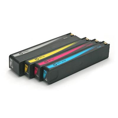 HP 970 971 4색세트 정품 잉크 카트리지 번들