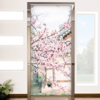 cm265-팝콘같은벚꽃나무_현관문시트지