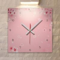 cb198-벚꽃이흩날리는_인테리어벽시계