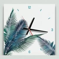 cj712-보테니컬아트(야자수)_인테리어벽시계