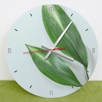 cm622-보테니컬아트실사_인테리어벽시계
