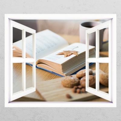 독서의계절_창문그림액자