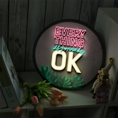 LED액자35R_Everythings is gonna be ok