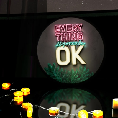 LED액자45R_Everythings is gonna be ok
