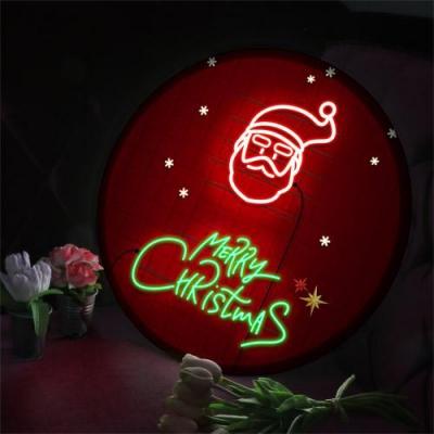 LED액자45R_산타와메리크리스마스
