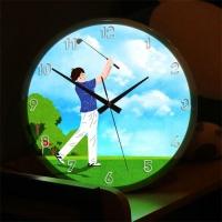 LED시계액자35R_즐거운골프