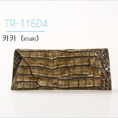 TRESETTE 소가죽 악어파우치 TR-116D