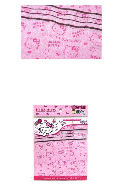 헬로키티 예쁜 때타올(2매)(목욕 손타월-때밀이) - 부비캣, 3,100원, 클렌징, 클렌징도구/소품