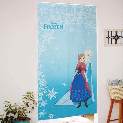 디즈니 겨울왕국 노렌(일본식 커텐-압축봉 판매)