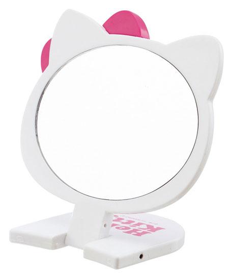헬로키티 접이식 거울(소)(손거울-휴대용 거울) - 부비캣, 7,000원, 도구, 거울