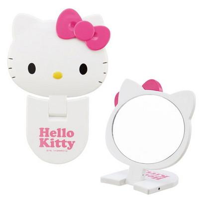 헬로키티 접이식 거울(소)(손거울-휴대용 거울)