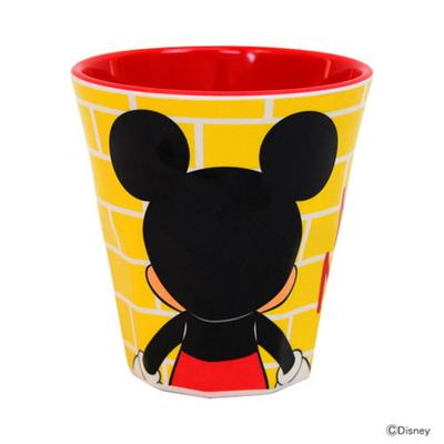 뒷모습 미키 미니 디자인 머그컵(팔각컵)