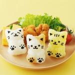 귀여운 고양이 주먹밥 만들기 모양 틀
