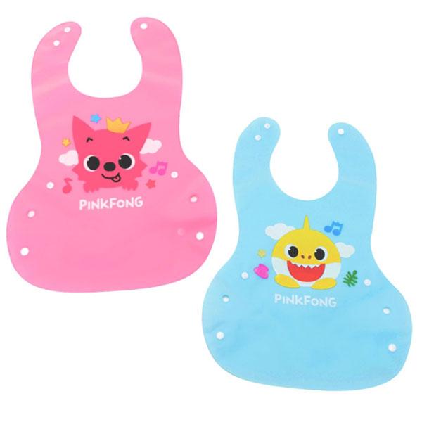 핑크퐁 아기상어 실리콘 방수 턱받이 - 부비캣, 11,600원, 신생아용품, 턱받이/손수건