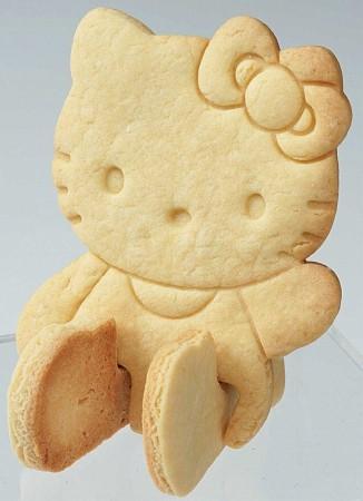 헬로키티 입체쿠키틀(식빵 쿠키 커터틀) - 부비캣, 5,200원, 쿠키/케익/빵, 쿠키
