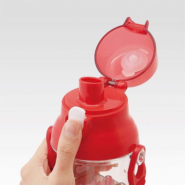 헬로키티 클리어 원터치 어깨끈 물통 - 부비캣, 18,900원, 피크닉도시락/식기, 컵/물병