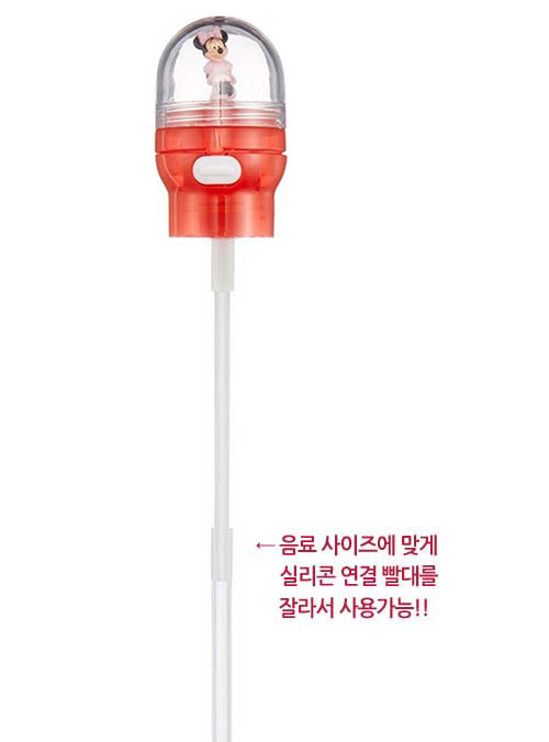 미니마우스 돔 마스코트 원터치 뚜껑 빨대캡 - 부비캣, 7,900원, 컵받침/뚜껑/홀더, 컵뚜껑
